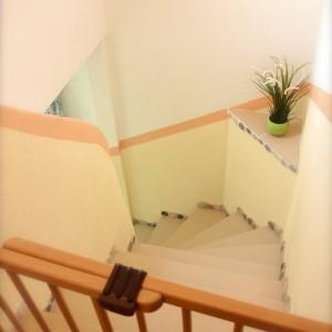 Treppengitter oben