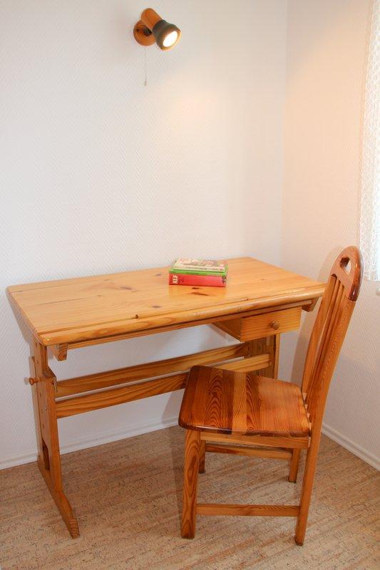 Schreibtisch im Kinderzimmer